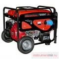 Генератор бензиновый DDE DPG 6551 (генер230В,5кВт/5.5кВА, двигат.HondaGX3,25л,86кг)